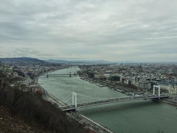 1月的布達佩斯